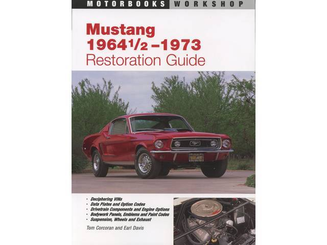 BOOK, MUSTANG 64-73 RESTORATION GUIDE