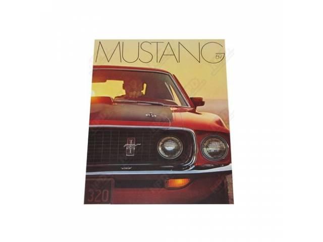 1969 MUSTANG SALES BROCHURE 5028 REV 1-69
