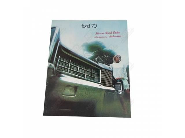1970 FORD FULL SIZE SALES BROCHURE 5104 REV