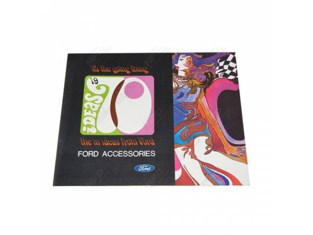 1970 FORD CAR/WAGON ACCESSORIES MSD-1 VOLUME 70
