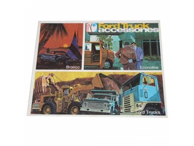 1970 FORD TRUCK ACCESSORIES MSD-2 VOLUME 70