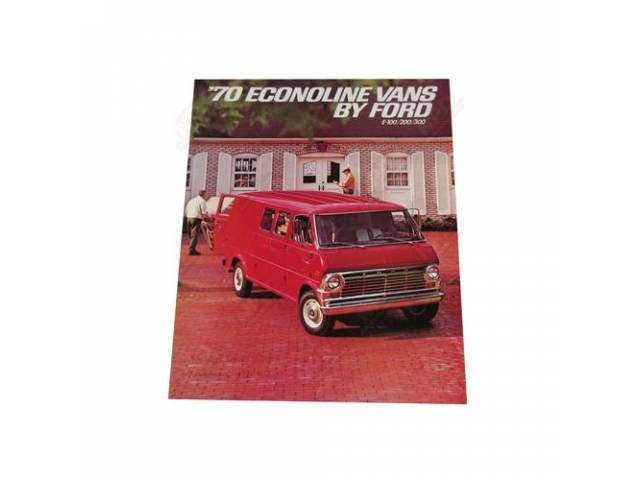 1970 ECONOLINE VANS BY FORD FDT-7020 REV 12-69