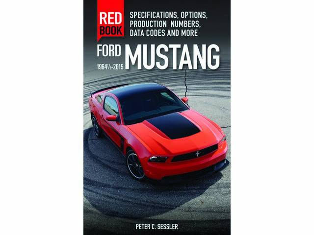 BOOK, MUSTANG RED BOOK