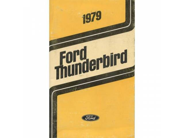 OWNERS MANUAL, Original Ford, 114 pages, nos