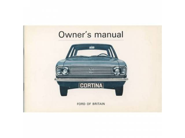 Owners Manual Original Ford 56 Pages Nos