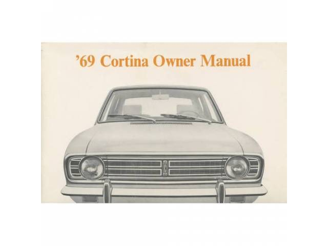 Owners Manual Original Ford 68 Pages Nos
