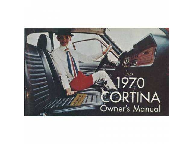Owners Manual Original Ford 72 Pages Nos