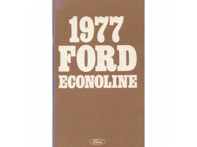 Owners Manual Original Ford 146 Pages Nos