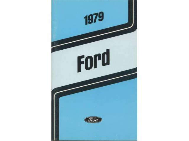 Owners Manual Original Ford 132 Pages Nos