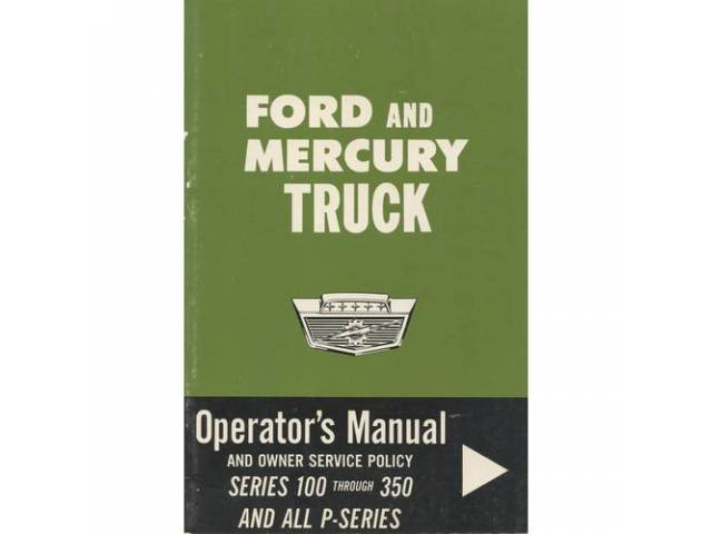 OWNERS MANUAL, Original Ford, 46 pages, nos