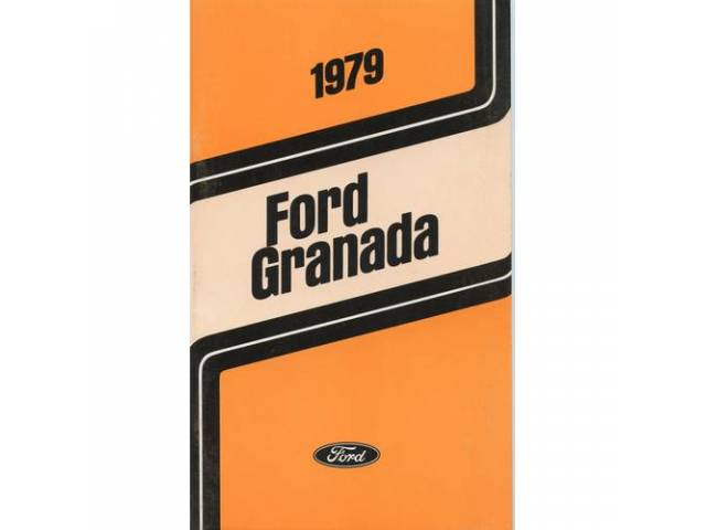 Owners Manual Original Ford 112 Pages Nos