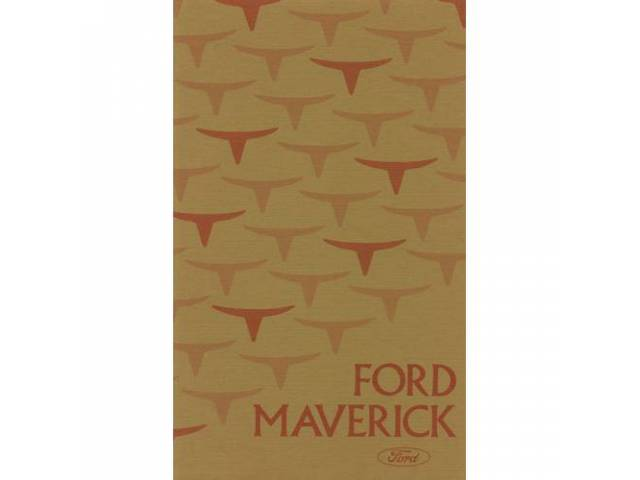 OWNERS MANUAL, Original Ford, 88 pages, nos