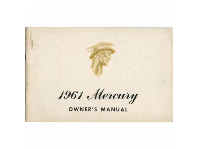Owners Manual Original Ford 50 Pages Nos
