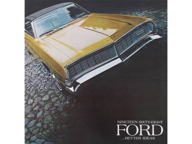 1968 FORD BETTER IDEAS SALES BROCHURE
