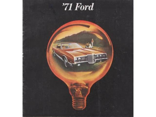 1971 FORD BETTER IDEAS SALES BROCHURE