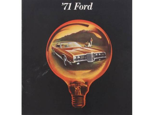 Original Ford Sales Brochure 1971 Ford Better Ideas