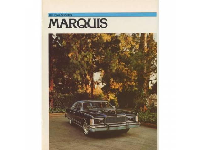 1978 MERCURY GRAND MARQUIS SALES BROCHURE