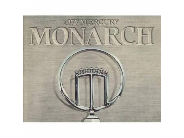 1977 MERCURY MONARCH SALES BROCHURE