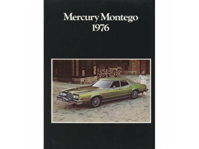 1976 MERCURY MONTEGO SALES BROCHURE