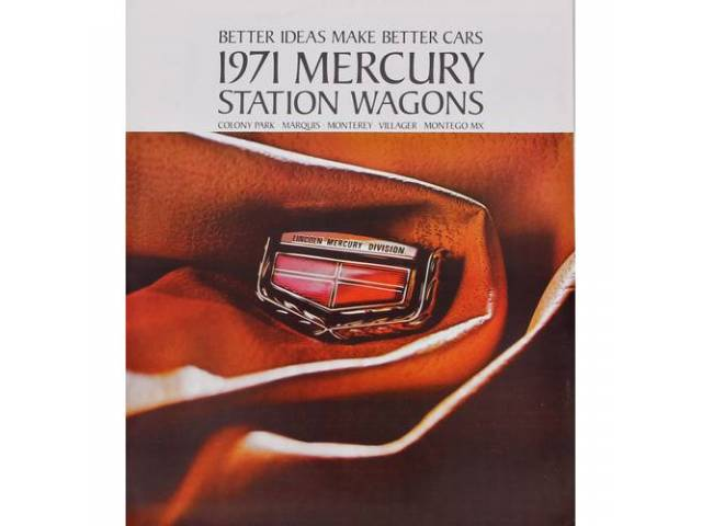 1996 MERCURY STATION WAGONS SALES BROCHURE