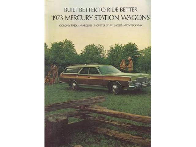 1973 MERCURY STATION WAGONS SALES BROCHURE
