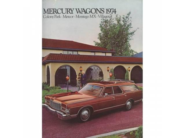 1974 MERCURY STATION WAGONS SALES BROCHURE