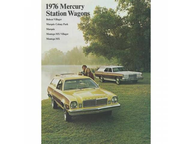 1976 MERCURY STATION WAGONS SALES BROCHURE