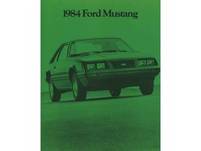 Book Sales Brochure Original Ford 28 Pages Nos