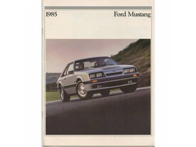 1985 FORD MUSTANG SALES BROCHURE