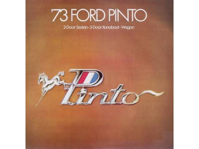 Book Sales Brochure Original Ford 14 Pages Nos
