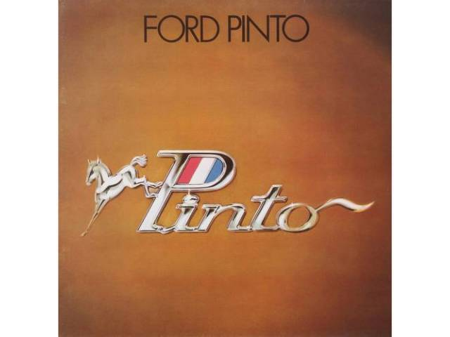 1973 FORD PINTO SALES BROCHURE