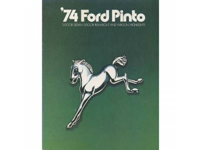 1974 FORD PINTO SALES BROCHURE