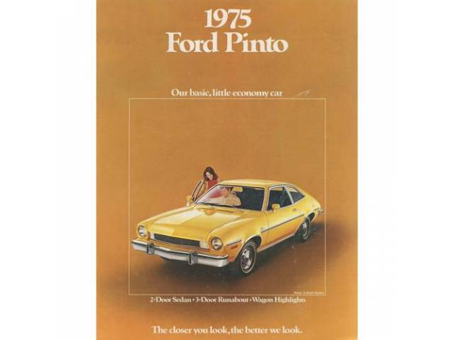 1975 FORD PINTO SALES BROCHURE