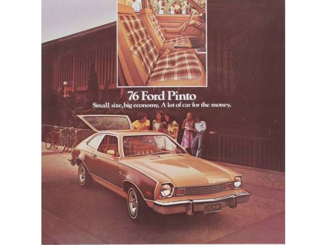 Book Sales Brochure Original Ford 6 Pages Nos