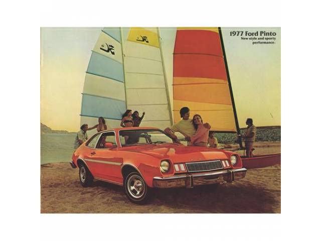 1977 FORD PINTO SALES BROCHURE