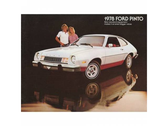 Original Ford Sales Brochure 1978 Ford Pinto 12