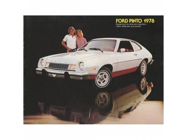 1978 FORD PINTO SALES BROCHURE