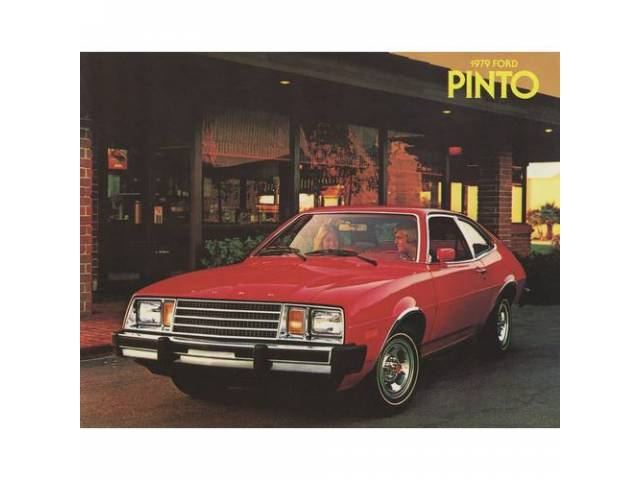 1979 FORD PINTO SALES BROCHURE