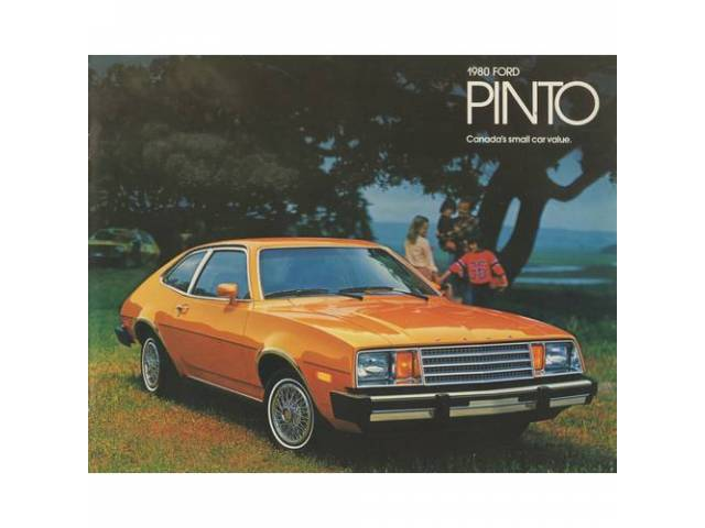 1980 FORD PINTO SALES BROCHURE