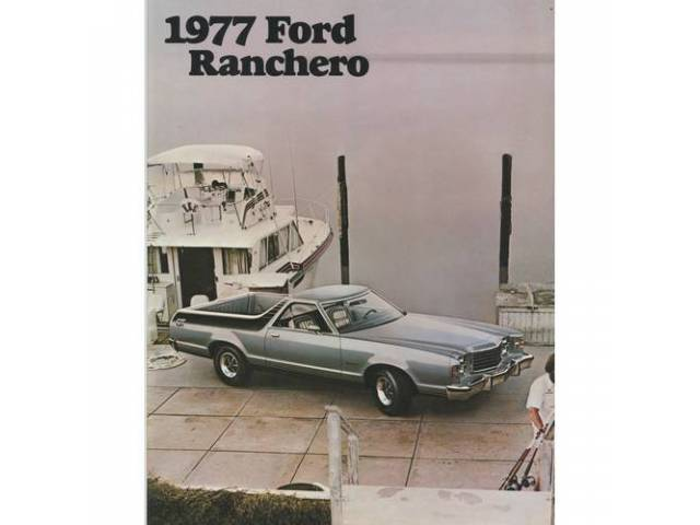 1977 FORD RANCHERO SALES BROCHURE