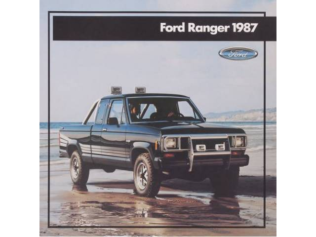 1987 FORD RANGER SALES BROCHURE