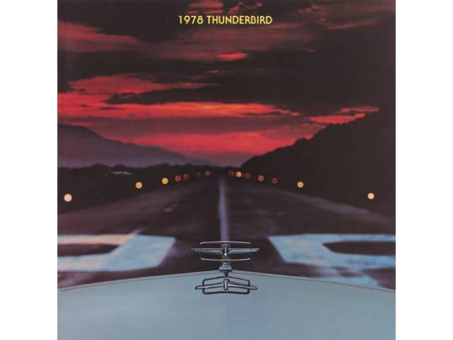 1978 FORD THUNDERBIRD SALES BROCHURE