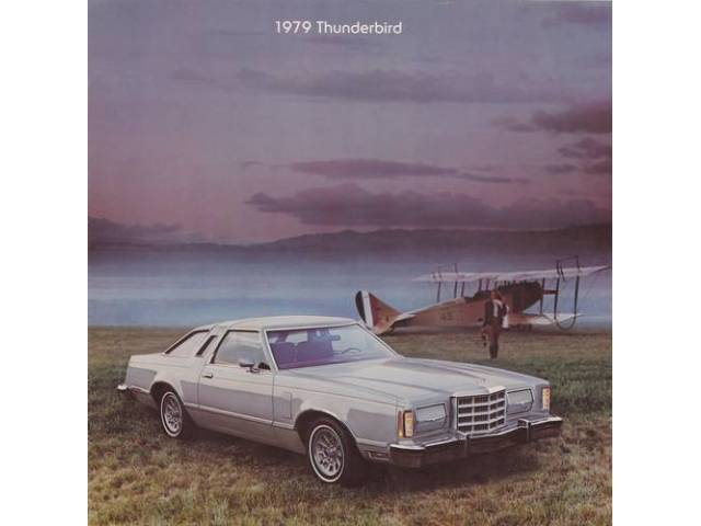 1979 FORD THUNDERBIRD SALES BROCHURE