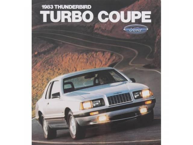 1983 FORD THUNDERBIRD TURBO SALES BROCHURE