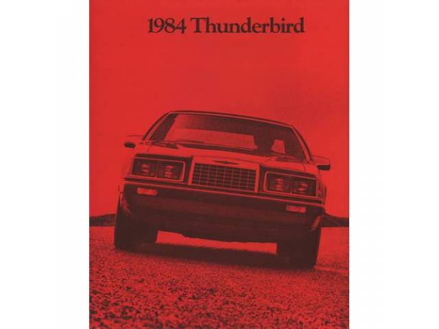 Book Sales Brochure Original Ford 20 Pages Nos