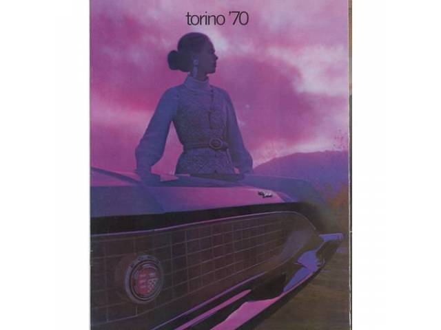1970 FORD TORINO SALES BROCHURE