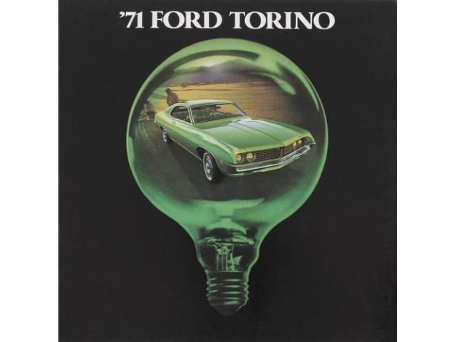 1971 FORD TORINO SALES BROCHURE
