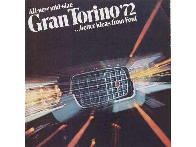 Book Sales Brochure Original Ford 18 Pages Nos