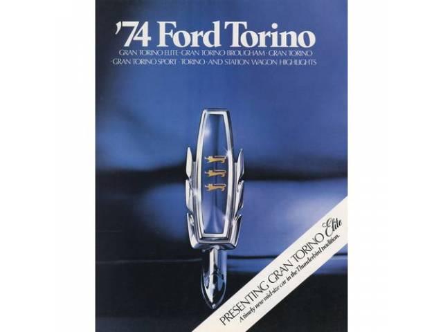 1974 FORD TORINO SALES BROCHURE