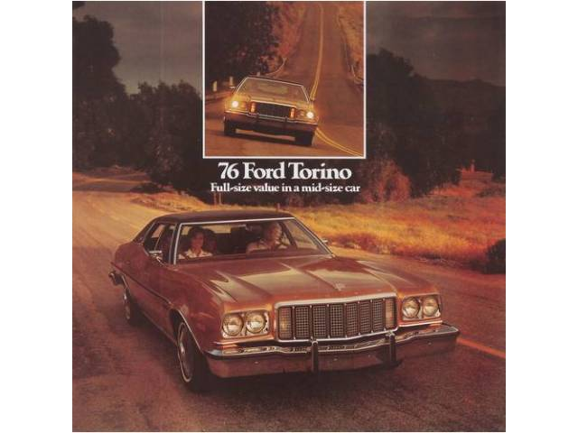 1976 FORD TORINO SALES BROCHURE